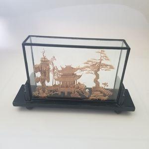 Other - Asian hand sculptured diorama